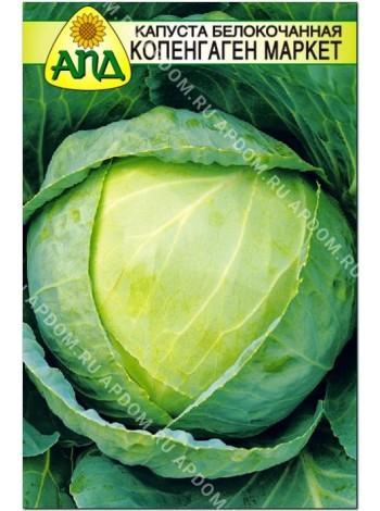 Капуста б/к Копенгаген Маркет (Brassica oleracea var.capitata alba)